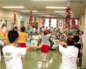 桃崎病院 看護の日 ミニ運動会 (雨天のため室内で行いました。)