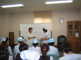 下関市の医療法人桃崎病院では、医療安全委員会研修を行いました。  講師 下関保健所 藤井様