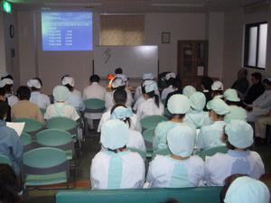 ヒヤリハット研修会を行いました 下関 桃崎病院