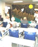 桃崎病院のお月見会